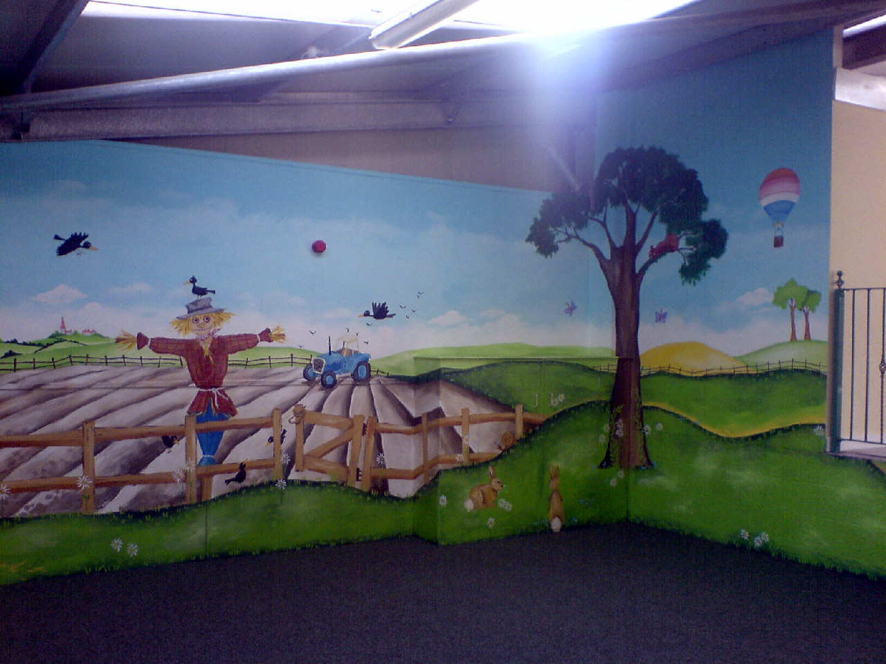 Dreamworld creations wall murals edinburgh dreamworld for Edinburgh wall mural