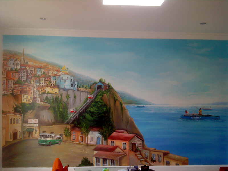 Dreamworld creations wall murals edinburgh mural art for Edinburgh wall mural