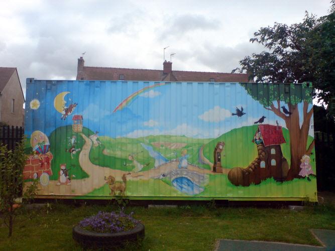 nursery wall designs