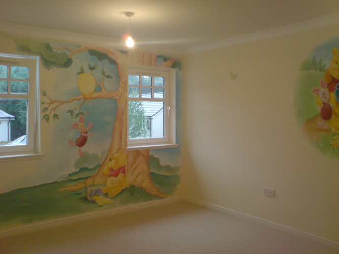 Pinterest the world s catalog of ideas for Classic winnie the pooh mural